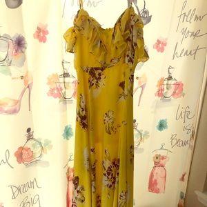 Fashion Nova maxi dress.